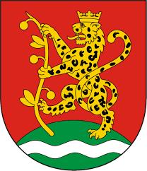 Znalezione obrazy dla zapytania herb gminy ostrówek